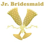 Golden Jr. Bridesmaid T-shirts & Gifts