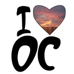 I Love OC T-shirts, Tees, Apparel
