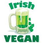 Irish Vegan T Shirts and Gifts