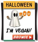 Vegan Halloween T-shirts, Bags, Gifts