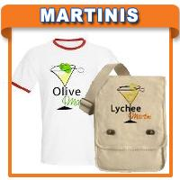 Martini T-shirts and Giftware
