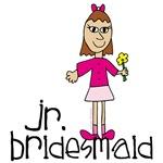 Jr. Bridesmaid (Pink) T-shirts and Gifts