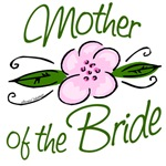 Pink Flower Mother of Bride Gifts and Favors