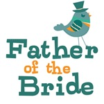 Father of the Bride Wedding T-shirts