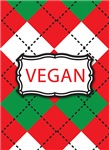 Vegan Christmas Argyle Gifts and Jewelry