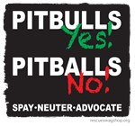 Pitbulls yes / Pitballs no