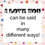 Many Ways to Show Love - Hearts