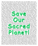 Save Our Sacred Planet