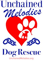 Unchained Melodies Dog Rescue Heart