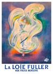 La Loie Fuller Rare Vintage Dancer Print