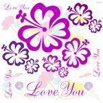 OYOOS Flowers Love You design