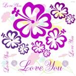 OYOOS Flowers Love You design