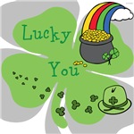OYOOS Lucky You Irish design