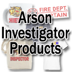 Arson Investigator Products