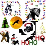 Schnauzer Holiday designs