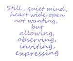 Still, Quiet Mind
