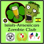 Irish American Zombie T-shirt and Products
