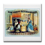 Vintage Women Washing