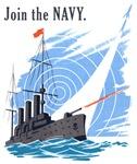 Vintage Navy Ship