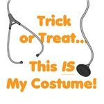 My Costume is a Stethescope!