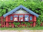 Sundborn Mailboxes in Dalarna