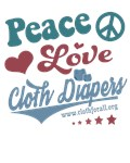 Peace, Love and Cloth Diapers