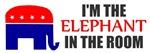 REPUBLICAN ELEPHANT SYMBOL GOP PRIDE SHIRT BUMPER