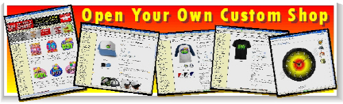 Open your own custom online shop and earn $$$$