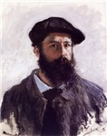 Claude Monet Self Portrait 1886