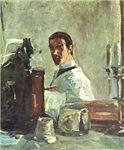 Henri de Toulouse-Lautrec Self Portrait