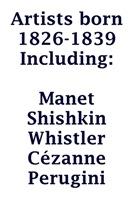 ArtzWithArtist Born 1826-1839