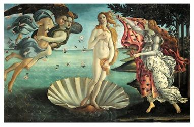 The Birth of Venus by Sandro Botticelli, 1486