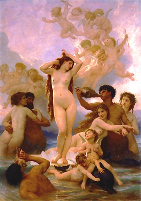 Bouguereau Birth of Venus