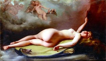 Falero - Reclining Nude