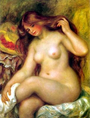 Renoir - Bather with Blonde Hair