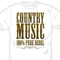 Country Music 100% Pure Rebel