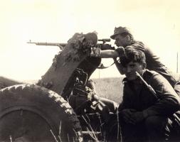 German Sniper at Work