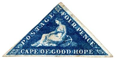 1854 Cape of Good Hope Postage Stamp