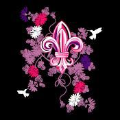 Over 30 Lady Austere Gothic Fleur-de-lis