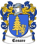 Cesare Coat of Arms, Family Crest