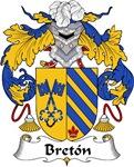 Breton Family Crest
