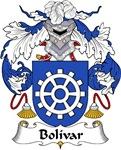 Bolivar Family Crest