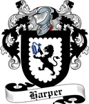 Harper Family Crest, Coat of Arms