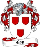 Hay Family Crest, Coat of Arms