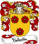 Valentin Family Crest, Coat of Arms
