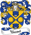 Vincent Family Crest, Coat of Arms