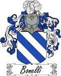 Bonelli Family Crest, Coat of Arms