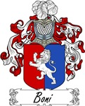 Boni Family Crest, Coat of Arms