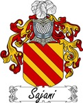 Sajani Family Crest, Coat of Arms