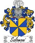 Salomoni Family Crest, Coat of Arms